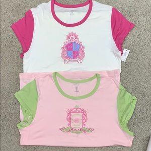 Gap Large short sleeve sleep tee shirts.  Size L.